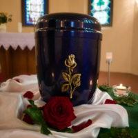 Friedhof Hartha - Bild einer Urne