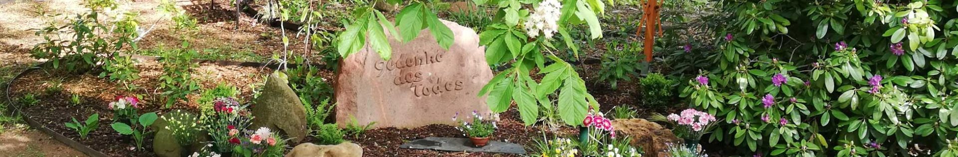 Friedhof Hartha - Formen der Bestattung